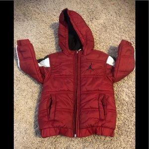 Jordan puffer toddler jacket